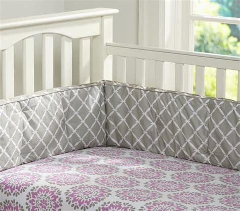 Dahlia Nursery Bedding Set Dahlia Nursery Bedding Set Pottery Barn