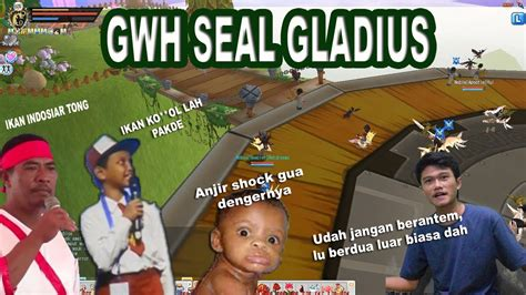Seal Gladius gwh seal gladius with ikan indosiar dan ikan tongkol