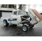 1960 Ford Gasser Rat Rod Hot Pickup