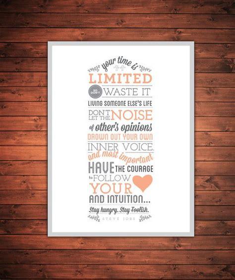 printable steve jobs quotes 18 quot x24 quot steve jobs quote print