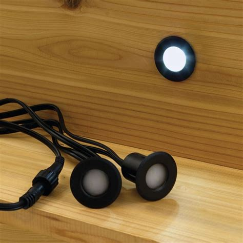 led lights for stairs kit deck step lights prevent trips and falls and a recessed
