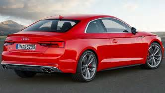 2017 audi a5 and s5 coupes revealed car news carsguide