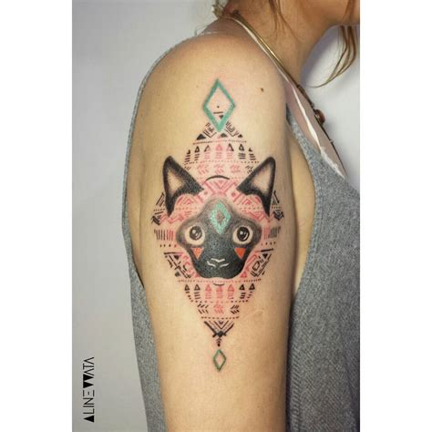 siamese cat tattoo siamese cat best ideas gallery