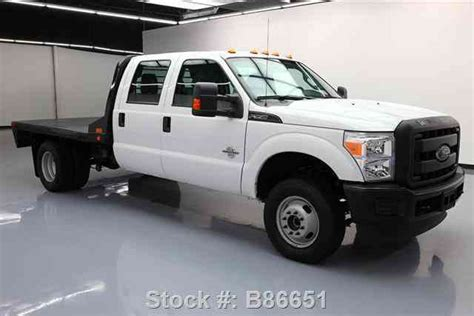 ford f 350 diesel dually ford f 350 crew 4x4 diesel dually flat bed 2016