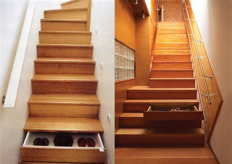 stairs with storage space saving staircase drawers home and decorating