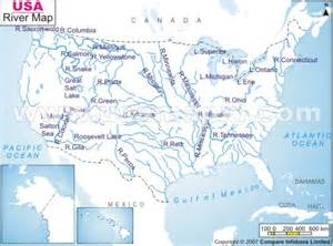 map of the rivers of the united states river maps of united states cruise guide