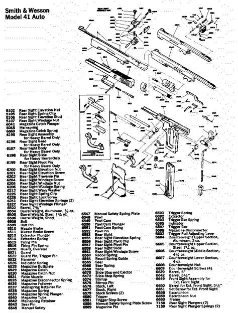 s w shield parts diagram smith and wesson model 59 parts diagram field s w