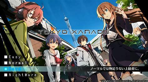 Ps Vita Tokyo Xanadu Exist Archive tokyo xanadu gameplay footage revealed handheld players