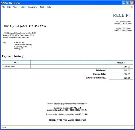 Receipt For Work Done Template by Printable Receipts For Work Done Likepet Me
