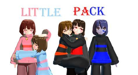 anime girl wallpaper pack zip mmd x undertale frisk chara little pack dl by