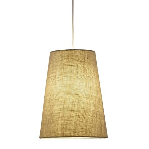 Burlap Pendant Light Adesso Harvest 1 Light Pendant In Burlap L Brilliant Source Lighting
