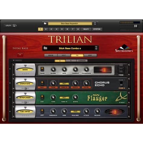 Spectrasonics Trillian Bass spectrasonics trilian bass instrument altomusic