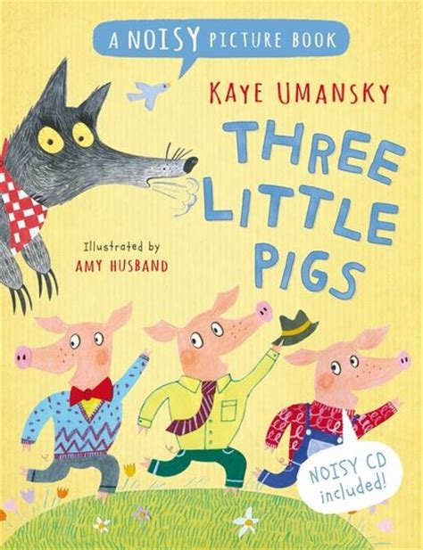 three pigs picture book three pigs a noisy picture book noisy picture