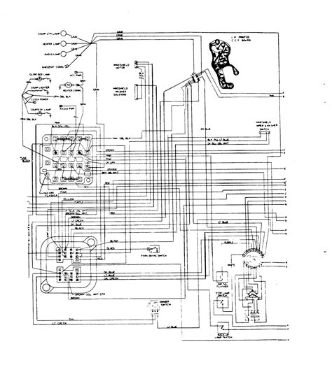 car electrical wiring light wiring diagram 1967