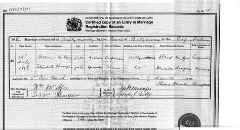 Belfast Birth Records Emerald Ancestors