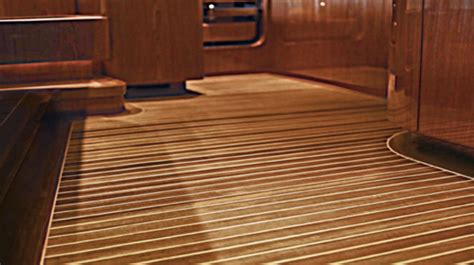 boat interior wood flooring maritime cabin sole flooring custom yacht interior solid