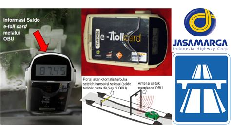 E Toll Pass Obu e payment yang tepat untuk jalan tol oleh sutiono gunadi