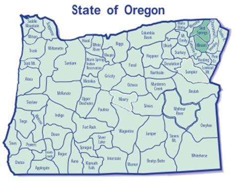 map of oregon units minam sled springs gmu map