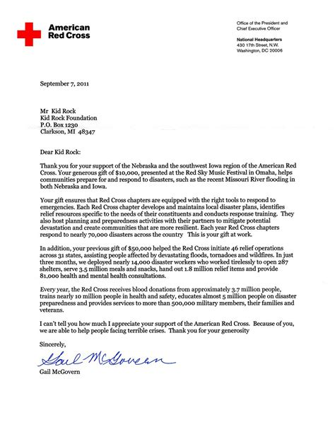 thank you letter for donation gplusnick