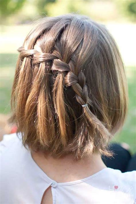 cute hairstyles braids short hair 15 cute short hairstyles for girls short hairstyles 2017