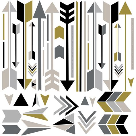 Best Selling Home Decor Furniture arrow wall decals rosenberryrooms com