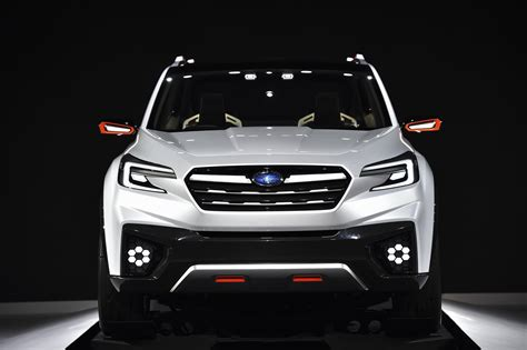 subaru forester concept subaru s new 3 row crossover that replaces tribeca is