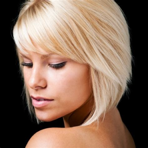 half whispy bangs cut on a slant for oval shaped faces side swept angled bangs my style pinterest