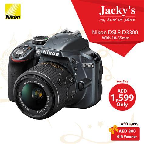 dslr offers nikon d3300 dslr offer at jacky s
