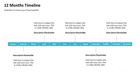 Timelines Powerpoint Slidepoints Editable Timeline Template Powerpoint