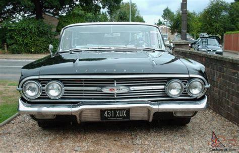 4 Door Impala by 1960 Chevrolet Impala 4 Door Sports Sedan