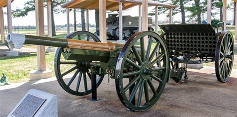 36 French 75mm M1897 Cannon