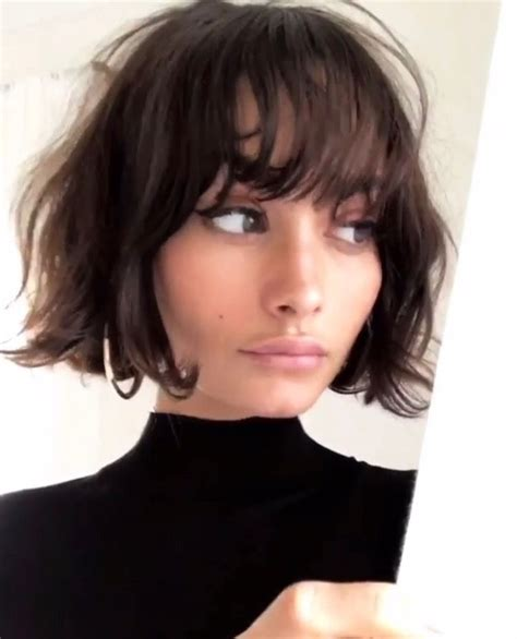short bob hairstyle http www marieclaire fr carre court bob and bangs hair pinterest coiffures cheveux et carr 233