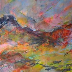 abstract landscape paintings abstract landscape painting paula brett paula brett