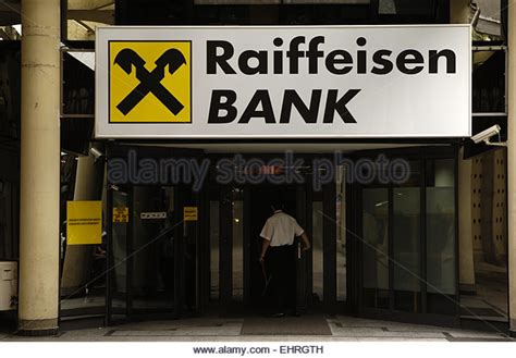 reifaisen bank raiffeisen bank finance stock photos raiffeisen bank