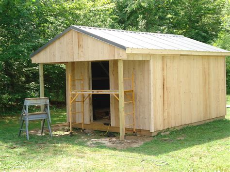 Building A Cabin Cheap by How To Build A 12x20 Cabin On A Budget Espa 241 Ol