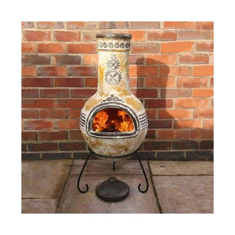 Retro Chiminea by Lit Your Outdoor Space Nuance With Chiminea Pit For