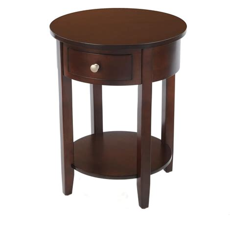 round side tables for living room round side table with drawer 236468 living room at