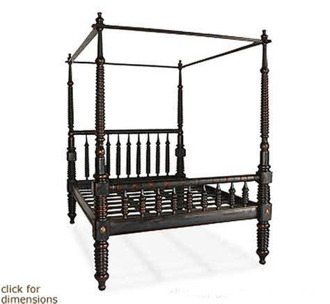 spindle bed frame four poster turned spindle bed frame furniture