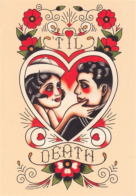 til death tattoo 1000 ideas about traditional thigh on