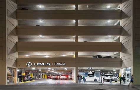 American Airlines Arena Parking Garage by Sports And Entertainment Arena Study Cree Led Lighting