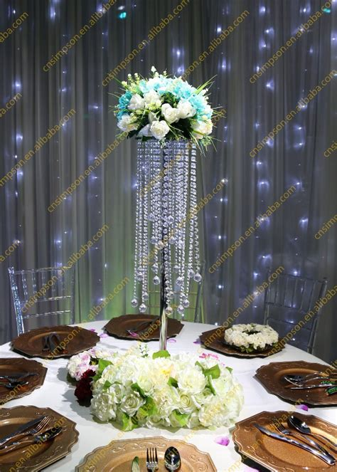 Crystal Table Top Chandelier Centerpieces For Weddings Wholesale Centerpieces For Tables