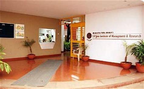 Sp Jain Mumbai Mba Fees by Sp Jain Institute Of Management Research Mumbai