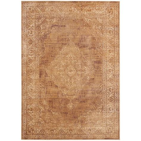 Safavieh Taupe Rug Safavieh Vintage Taupe 8 Ft X 11 Ft 2 In Area Rug