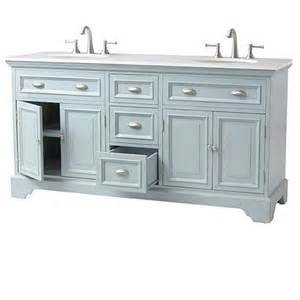 Bathroom Vanity Home Depot Home Decorators Collection 67 In Vanity In Antique Blue With Marble Vanity Top In