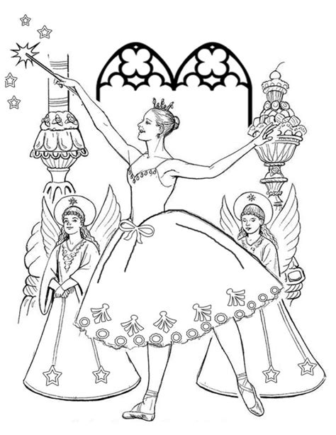 clara nutcracker coloring pages coloring pages