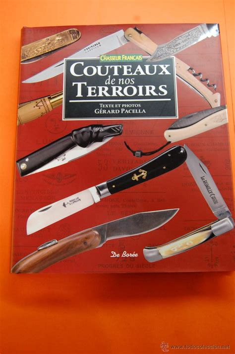 libro cuchillo de sueos libros couteaux de nos terroirs gerard pace comprar en todocoleccion 46710434
