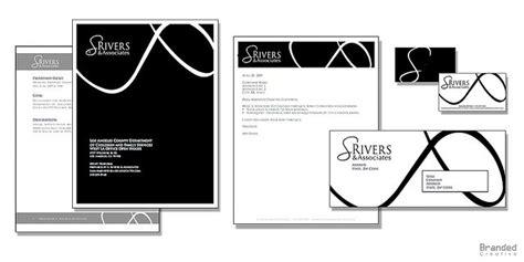 Shelter Insurance Letterhead identity design for s rivers by branded creative via