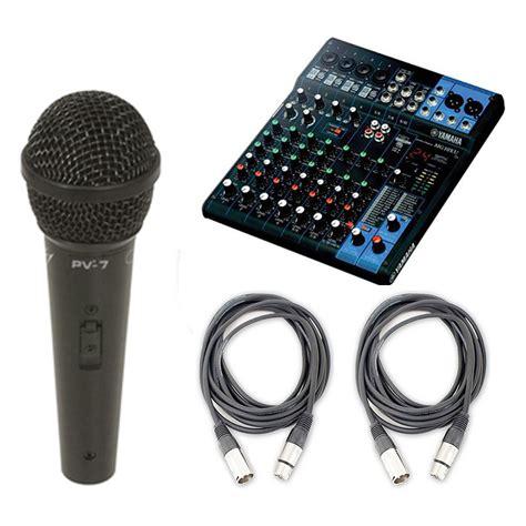 Mixer Yamaha Mg166cx Usb 10 Input Mic yamaha mg10xu 10 input stereo mixer usb w microphone and