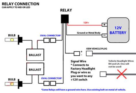 hid relay capacitor diagram 28 images hid wiring