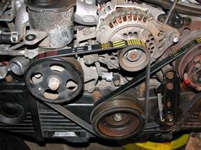 Subaru Timing Belt Replacement 1995 Subaru Legacy Outback Timing Belt And Water